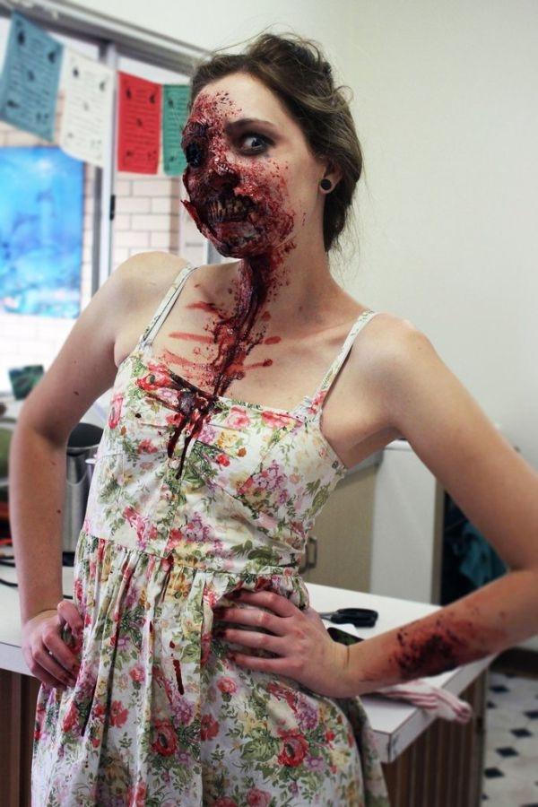 Scary Oz Comic-Con Zombie Makeup
