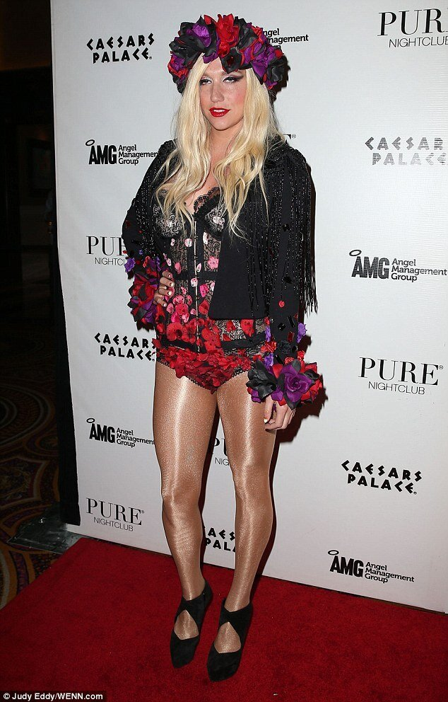 Kesha is Full of the Joys of Spring