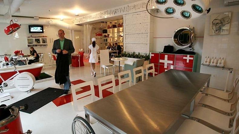 Hospitalis, The Hospital Themed Restaurant in Riga