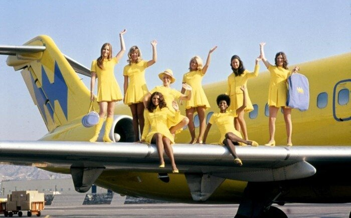 Style in the Aisle: Flight-Attendant Fashion Over The Years