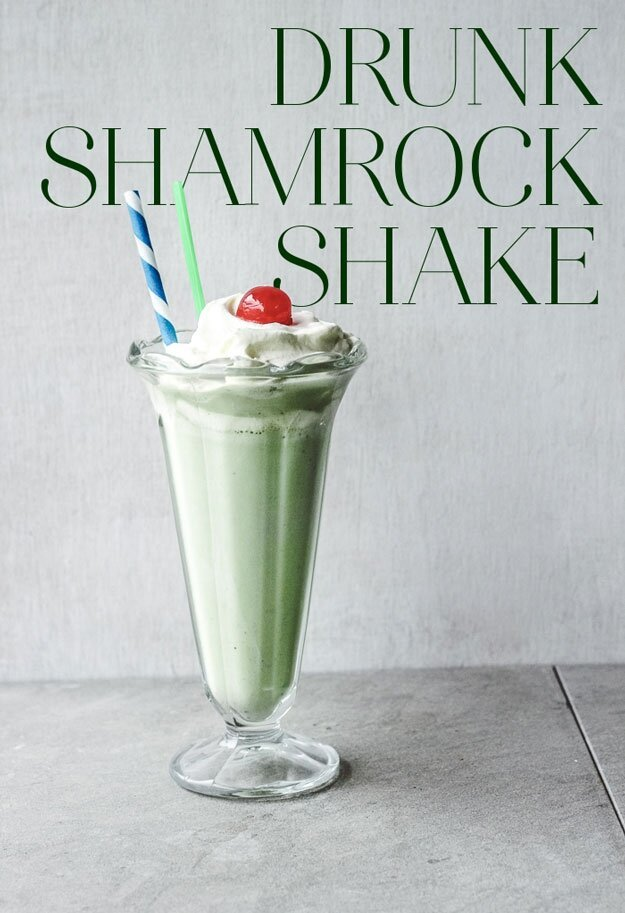 How To Make A Boozy Shamrock Shake For St. Patrick's Day