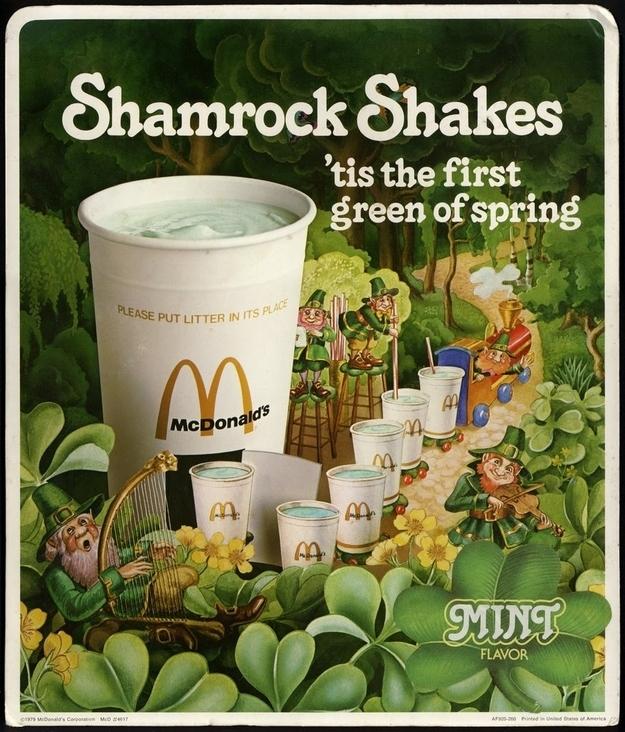 Facts About McDonald's Shamrock Shake