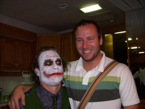 "Behind The Scenes of ""Dark Night"" - Heath Ledger"