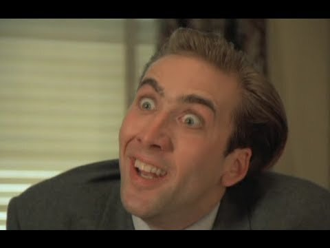 Learning The Alphabet With Nicolas Cage (Video)