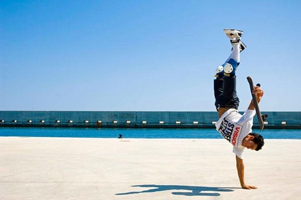 Extreme Freestyle Skateboarding  Kilian Martin