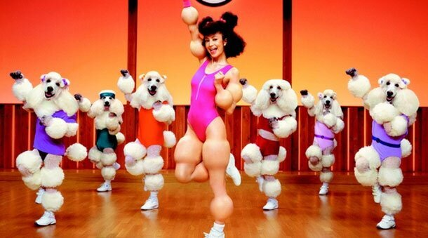 Utterly Bizarre Japanese Poodle Workout Video