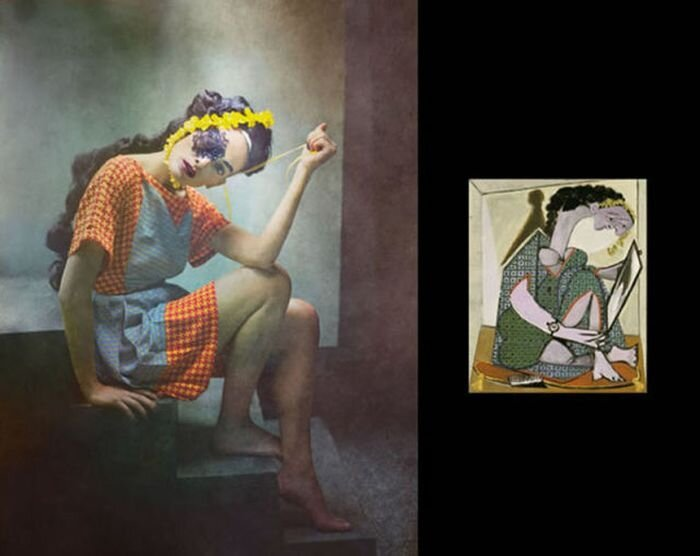 Picasso's Women in Real Life By Eugenio Recuenco