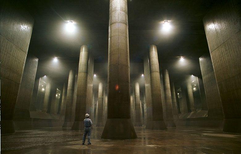 G-Cans: Tokyo's Massive Underground Storm Drain