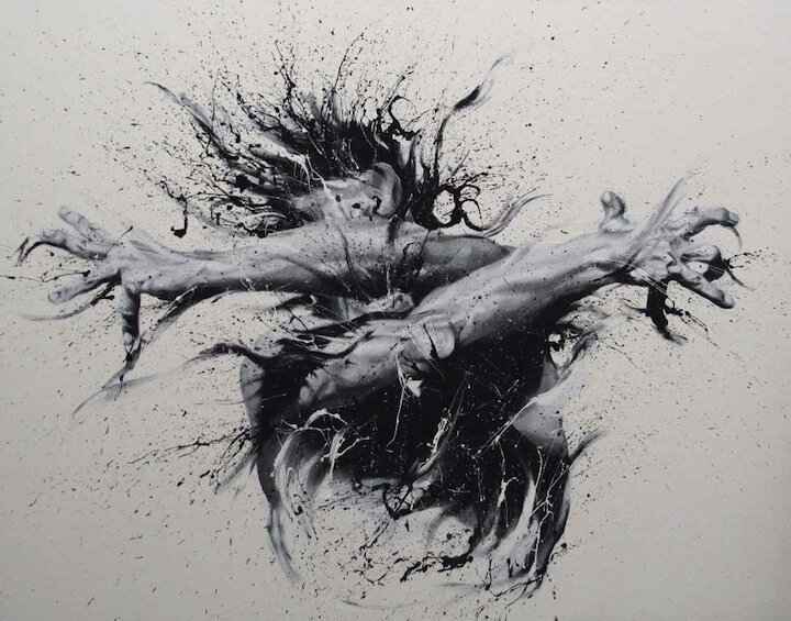 Photo Realism Finger Paintings Full of Raw Emotion By Paolo Troilo