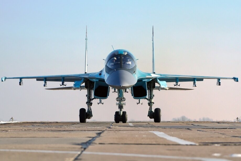 The Sukhoi Su-34 Fighter Jet