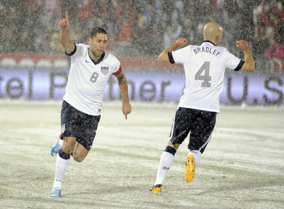 Amazing Photos Of The US Men's Soccer Blizzard Match