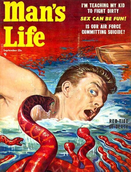 Outlandish Covers From 'A Man's Life' Magazine