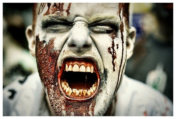 Horrifying Zombies That Are Out To Terrify You, Zombie Walk