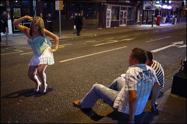 Outrageous Photographs Of Drunken Brits