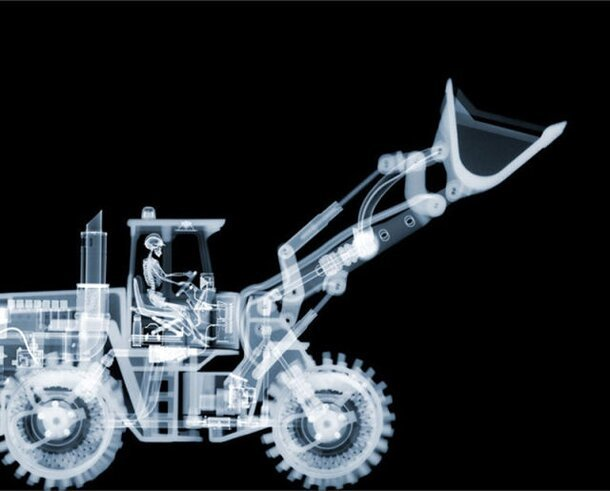 Breathtaking Examples Of X-Ray Art By Nick Veasey