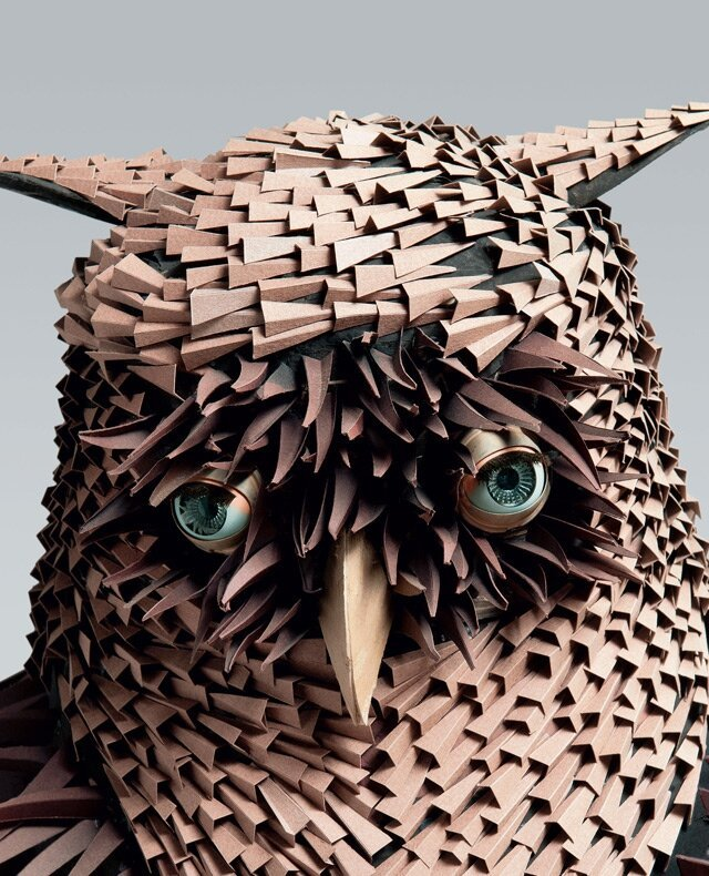 Incredibly Detailed Paper Sculptures By Irving Harper