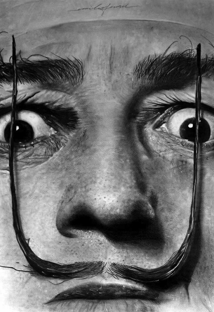 Shockingly Surreal Hyper-realistic Charcoal Illustrations By  Emilio Ferrari