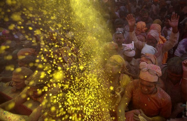 India Celebrates Festival of Colors