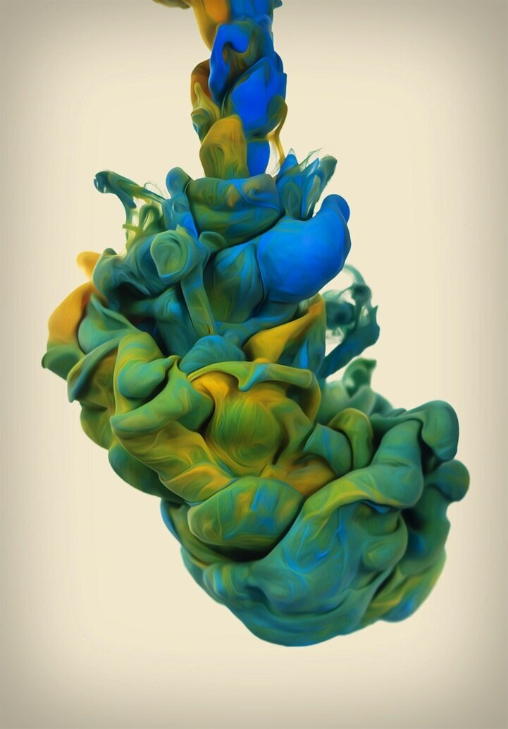 Colorful Outtakes From Album Cover Photo Shoots By Alberto Seveso