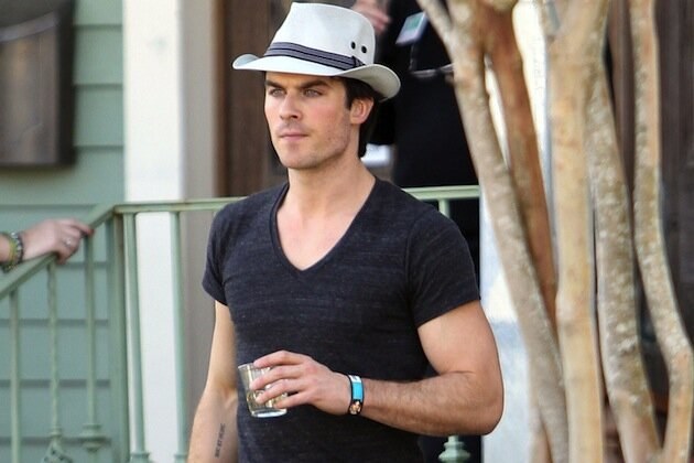 Ian Somerhalder Celebrates the Anniversary of His Furniture Store