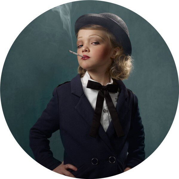 15 Unsettling Glamour Shots of Children Smoking By Frieke Janssens