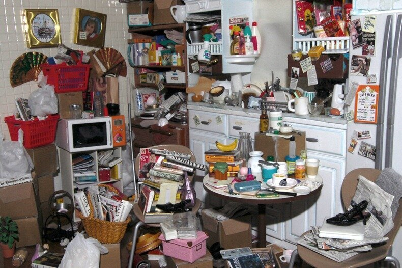 Barbie Trashes Her Dream House, Hoarders