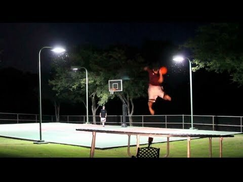 Epic Trick Shot Battle Basketball Vs. Frisbee Dude Perfect, Brodie Smith