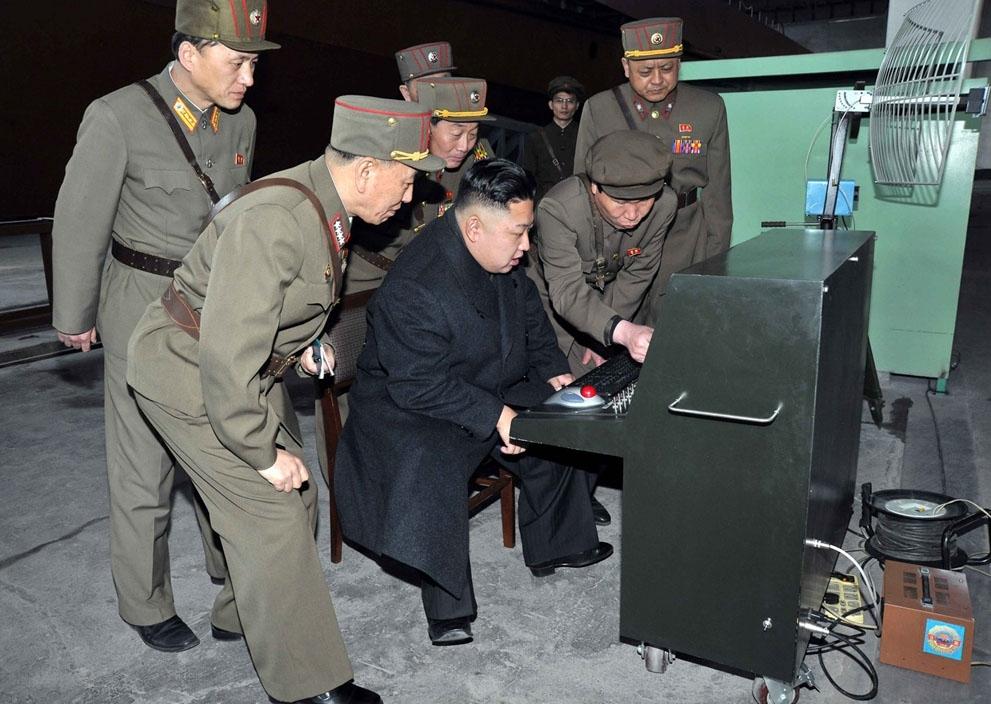 North Korea Puts Its War Machine on Display