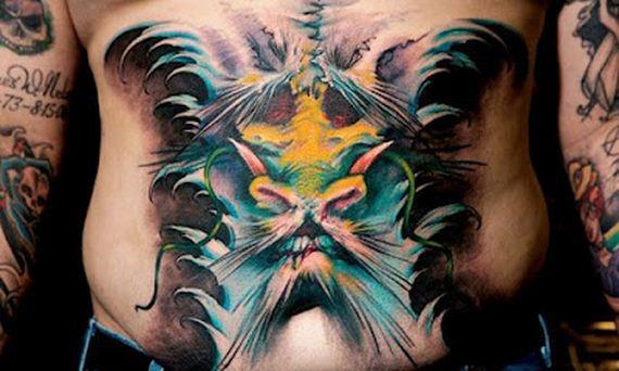 Cool 3D Tattoos