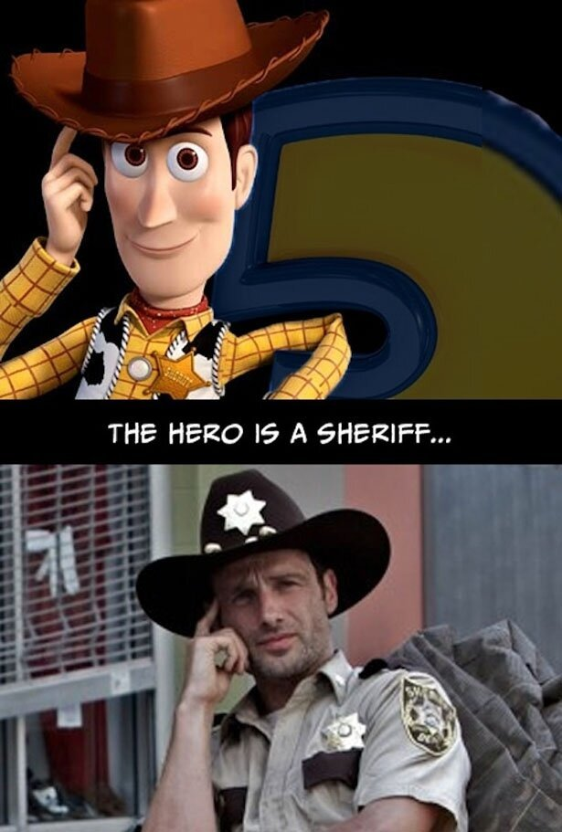 Reasons Why The Walking Dead Is Just Like The Movie Toy Story
