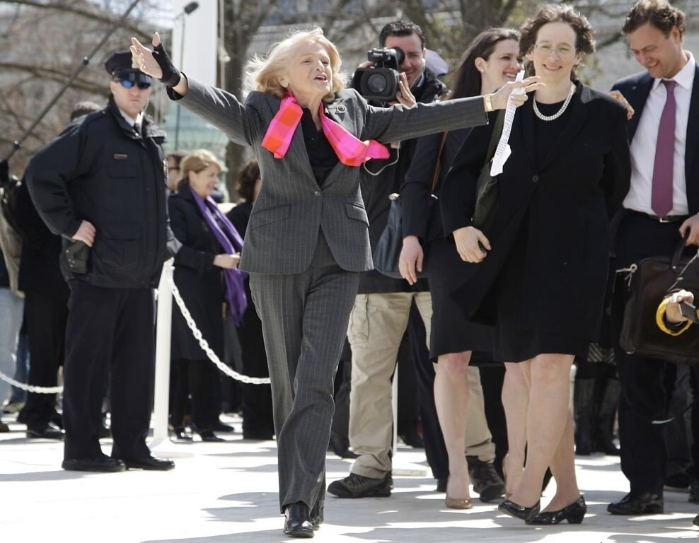 Gay Widow,Edith Windsor Gets Her Day In Court, Fighting For Equality