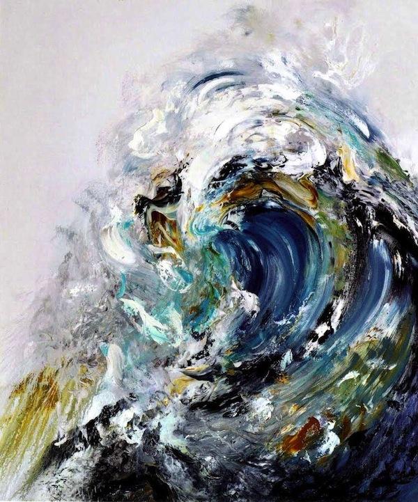 Bold Breaking Waves by Maggi Hambling