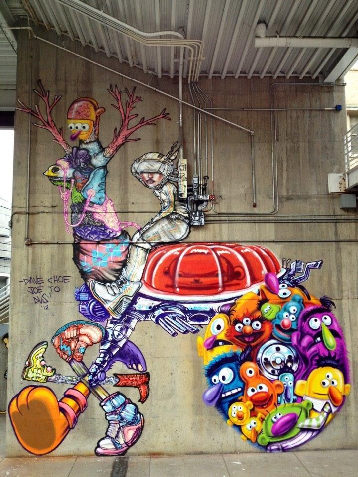 David Choe Beautifies Denver's Streets