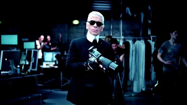 Face to Face: Fashion Icon Karl Lagerfeld Interviews Himself