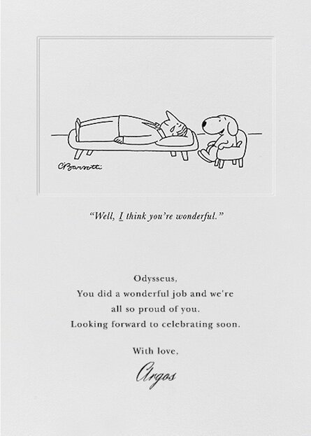 New Cards of The New Yorker's Witty Cartoons