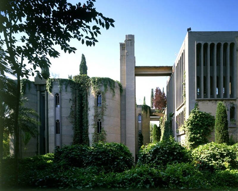 Incredible Cement Factory Conversion in Barcelona By Ricardo Bofill