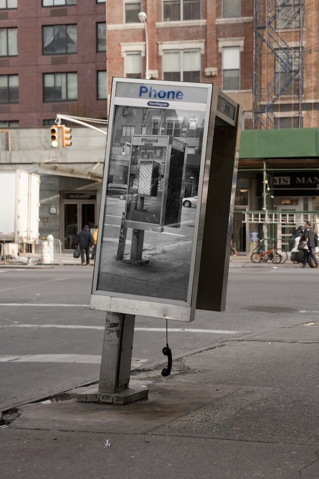 Inception-Style Phone Booth Art in NYC By Jordan Seiler