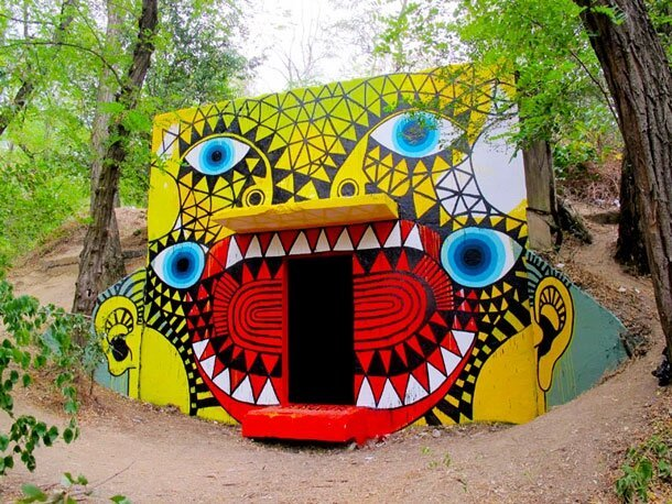 Eye-Catching & Fun-Filled Street Graffiti Art By David Shillinglaw