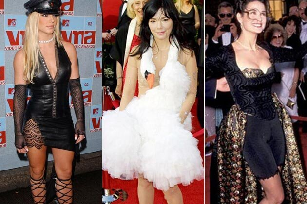 10 Celebrity Style Fails, Mistakes and Disasters