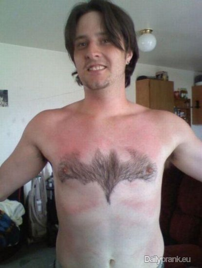 Men With Creative Chest Hair Compilation, Too Funny