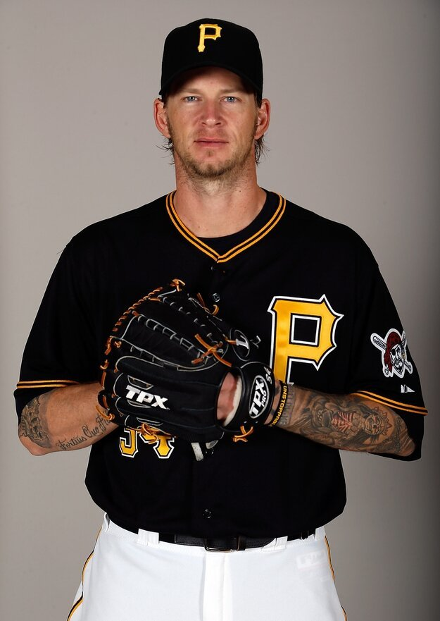 Baseball April Fools Day Prank, Aj Burnett of The Pittsburgh Pirates
