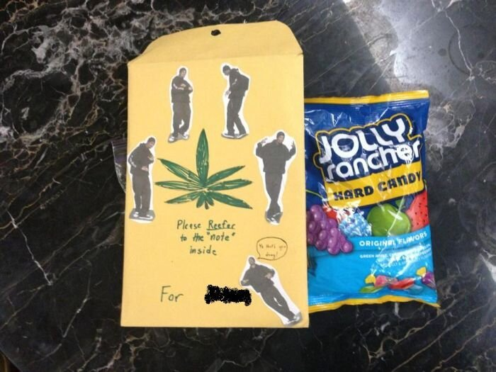 This Girl Got Asked to Prom on 4/20