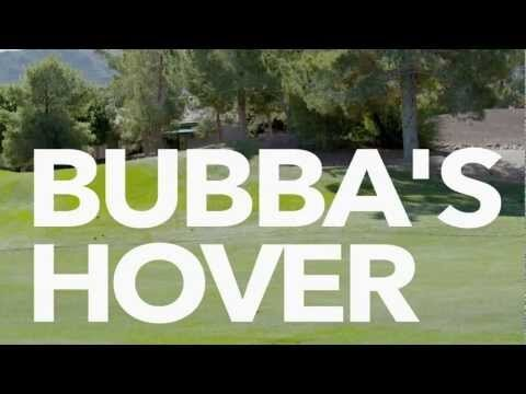 Bubba Watson's Awesome Hover Golf Cart