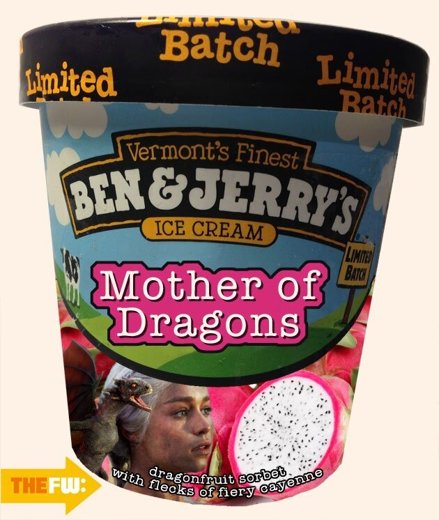 10 'Game of Thrones' Ben & Jerry's Flavors We Would All Totally Eat