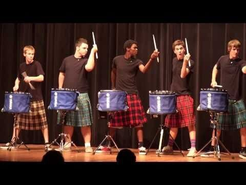Hot Scots Drum Line From Lake Howell High School Are Crazy Good