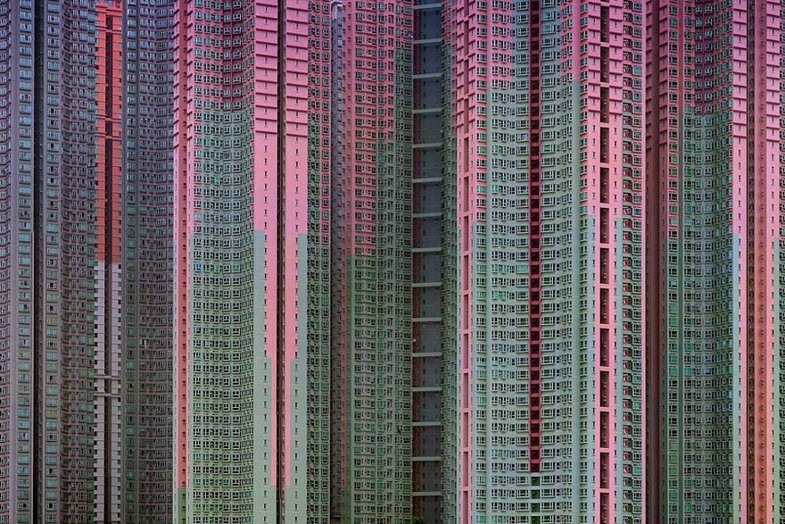 Mind-Blowing Architectural Density in Hong Kong By Michael Wolf