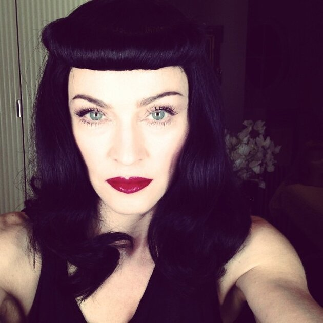 Madonna Goes Brunette, Violates Instagram Rules