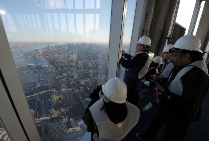The View From The 100th Floor Of One World Trade Center