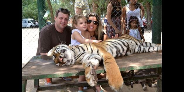 Worlds Most Dangerous Petting Zoo- Lujan Zoo Lets Visitors Interact With All Animals