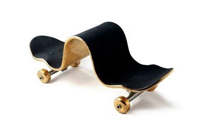 10 Conceptual Skate Board Sculptures By Alex Trochut